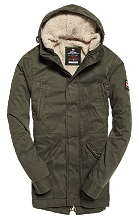 1ce9ba933835 Superdry New Military Parka