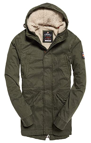 huge selection of 91cd2 a0e20 Superdry New Military Parka Uomo