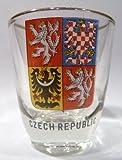 Czech Republic Shot Glass