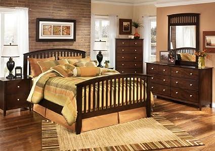 Amazon.com: Yuan Tai Jana 5-Piece Bedroom Furniture Set ...