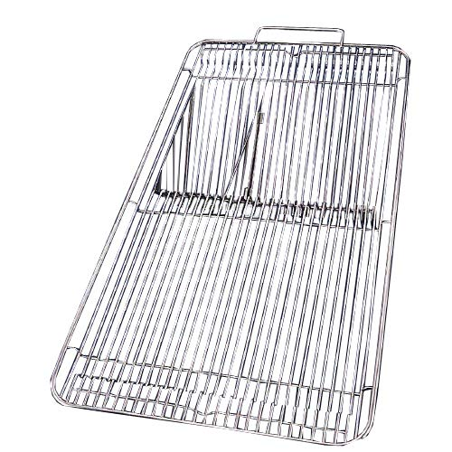 Maryland Plastics E0394B Stainless Steel Cage Covers 19'' x 10.5'' (Pack of 10)