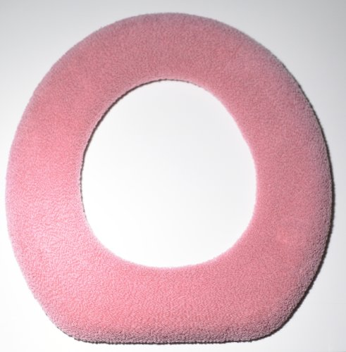 Warm Fuzzy Warm and Fuzzy Toilet Seat Covers (Pink)