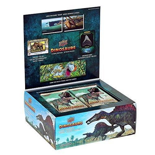 - 2015 Upper Deck Dinosaurs Trading Card Hobby Box