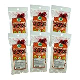 Dark Chocolate, Almond & Raspberry Snack Pack (6 Pack) - LC Foods - Low Carb - All Natural - Paleo - Gluten Free - No Sugar - Diabetic Friendly - 1.0 oz Each