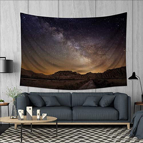 Anhuthree Night Tapestry Wall Hanging 3D Printing Milky Way