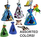 Cozy Sleeper Hideaway / Nesting Pouches for Your Small to Medium-sized Pets (Birds and Mammals) (Large)