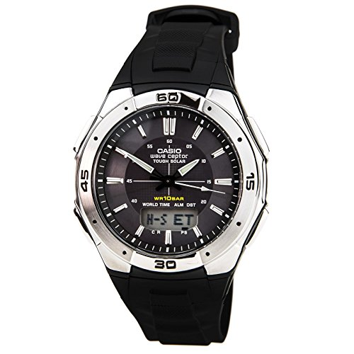 Watch Waveceptor Digital (Casio Men's WVA-M640-1AJF Wave Ceptor Tough Solar Analog / Digital Watch [Japan Import])