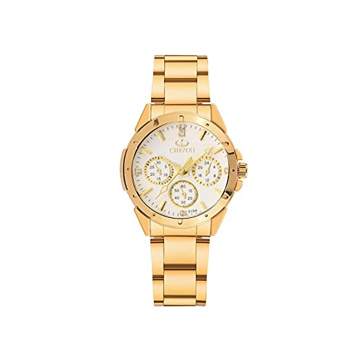 Relojes Mujeres Acero Inoxidable Impermeable Moderno Reloje Business Clásica Moda Femenino Dress Slim Exquisita Reloj para Mujer: Amazon.es: Relojes