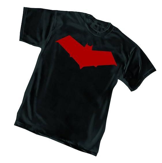 Amazon Red Hood Symbol Mens Black T Shirt Clothing