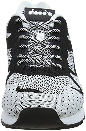 Nerobianco Diadora II V7000 Sneaker Weave Uomo Nero vFAqPUv