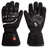 SAVIOR HEAT Gloves for Men Women, Electric Betteries Heated Gloves for Cycling Motorcycle Skiing