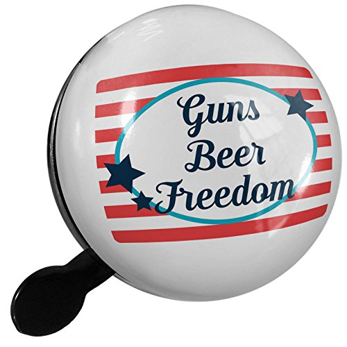 Small Bike Bell Guns Beer Freedom Fourth of July America Stars and Stripes - NEONBLOND by NEONBLOND
