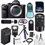 Sony Alpha a7S II a7S Mark II a7SII ILCE7SM2/B Mirrorless Digital Camera (International Model no Warranty) + Sony E 55-210mm f/4.5-6.3 OSS E-Mount Lens (Black) + 49mm Filter Kit 6AVE Bundle 106