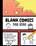 Blank Comics for Kids: Create Your Own Comic