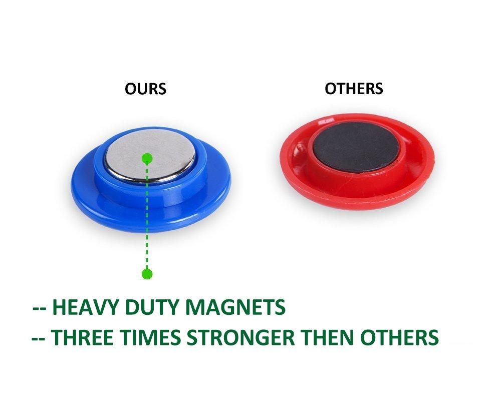 Amazon.com: 30Pcs Heavy Duty Neodymium Refrigerator Magnets with ...