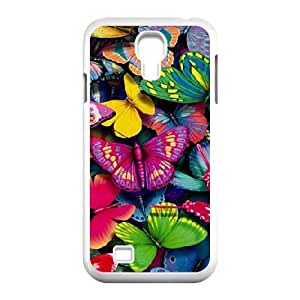 Samsung Galaxy S4 Cases, Non Slip Butterfly Cases for Samsung Galaxy S4 {White}