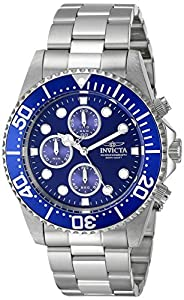 upc 843836017695 product image for Invicta Men's 1769 Pro Diver Collection Stainless Steel Bracelet Watch with Silver/Blue Dial | barcodespider.com