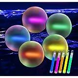 "10"" Glow Beach Balls: Assorted (5-Pack)"