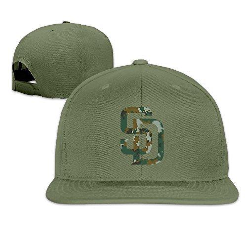 SanDiego Padres Memorial Day Camo Pattern Print Baseball Cap Hat]()