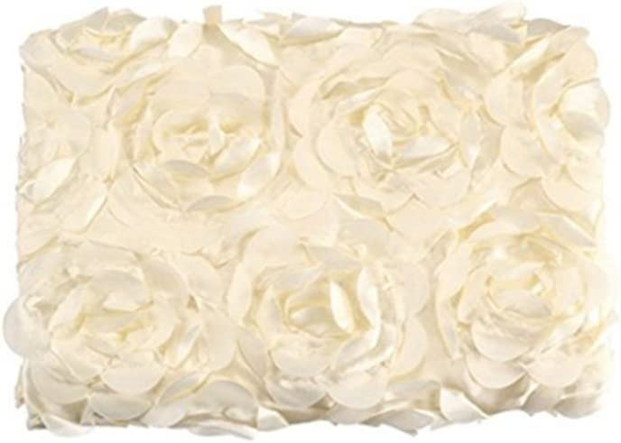 Newborn Photography Swaddle Baby Photo 3D Rose Flower Backdrop Blanket Nice CA