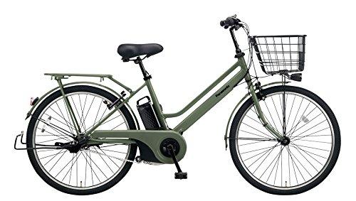 Panasonic(パナソニック) 2018年モデル ティモS 26インチ BE-ELST633 電動アシスト自転車 専用充電器付 B078K8MYG2 G:マットオリーブ G:マットオリーブ