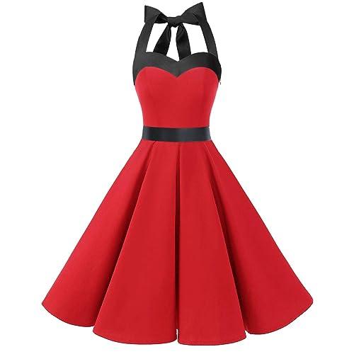 Red Black Dress: Amazon.com