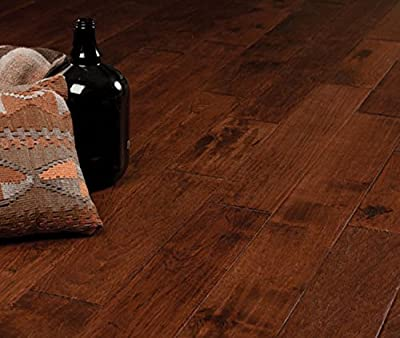 "Hickory Character (Canyon Crest) Prefinished Solid Wood Flooring 5"" x 3/4"" Samples at Discount Prices by Hurst Hardwoods"