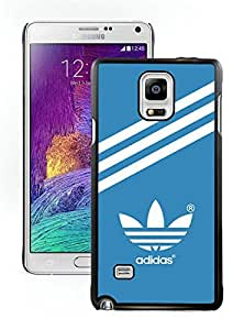 Fahionable Custom Designed Samsung Galaxy Note 4 N910A N910T N910P N910V N910R4 Cover Case With Adidas 22 Black Phone Case