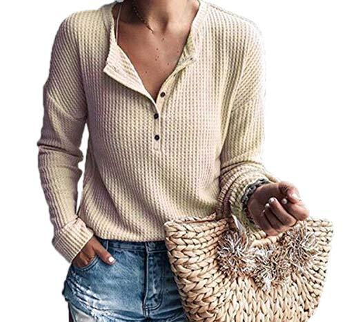 shirt Maglietta Manica Moda Inverno Cachi E Maglione T Bluse Maglie Tops Pullover Casual Cime A Donne Autunno Lunga Sweater vSgqHawa