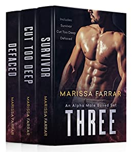 Three: An Alpha Male Boxed Set by [Farrar, Marissa]