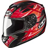 HJC Storm Men's CS-R2 Sports Bike Racing Motorcycle Helmet - MC-1 / Large