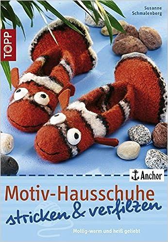 Motiv Hausschuhe Stricken Verfilzen Mollig Warm Und Heiß