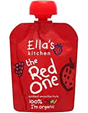 Ella's Kitchen The Red One Organic Squished Smoothie Fruits (90g) - Pack of 6