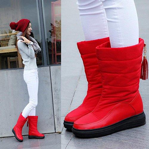 nieve de Botas Mujer invierno c Manadlian Botas de awa8PxS