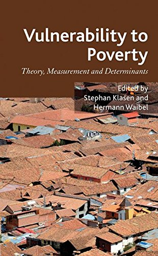 Vulnerability to Poverty: Theory, Measurement and Determinants, with Case Studies from Thailand and Vietnam by Brand: Palgrave Macmillan