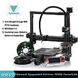 3D Printer Kits TEVO Tarantula I3 Aluminium Extrusion 3D Printer kit with Automatic platform 3d printing 2 Rolls Filament 8GB SD card LCD As Gift