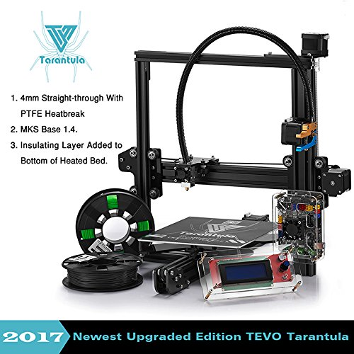 TEVO 2017 Classic Tarantula I3 Aluminium Extrusion 3D Printer kit//Large Bed 3d printing//2 Roll Filament SD card Titan Extruder As Gift