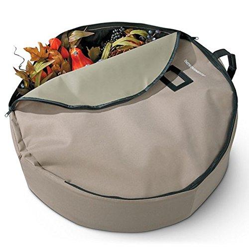 24'' Wreath Storage Bag by Improvements