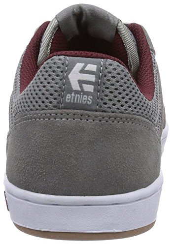 Etnies Marana Bourgogne Gris Suede Chaussures Skate Sneaker Hommes Bottes