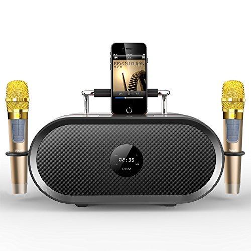 RHM Karaoke Machine for Kids&Adult,2 Wireless