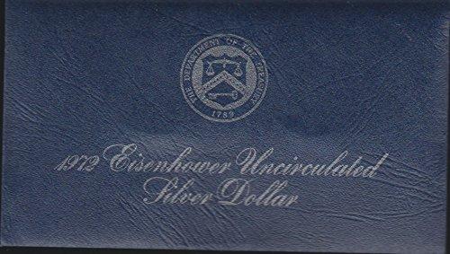 - 1972 S Eisenhower (1971-1978) $1 Superb Gem Uncirculated US Mint