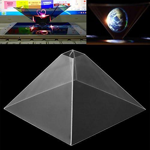 Cewaal Proyector del Holograma de Smartphone, Video holográfico ...