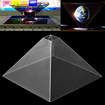 Hongfei Proyector del holograma de Smartphone, video holográfico ...