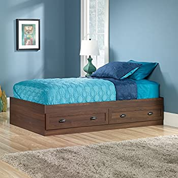Sauder County Line Twin Mates Bed in Rum Walnut. Amazon com  Sauder County Line Twin Mates Bed in Salt Oak  Kitchen