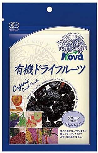 ノヴァ  有機ドライフルーツ・プルーン(種あり) 150g  4個