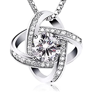 Amazon.com: Jewelry Sterling Silver Pendant Necklace J.Rosée Round