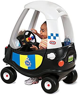 little tikes- Tikes Patrol Police Car Refresh Andadores, Negro ...