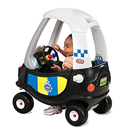 little tikes Tikes Patrol Police Car Refresh Andadores Negro, Color Blanco 172984E3