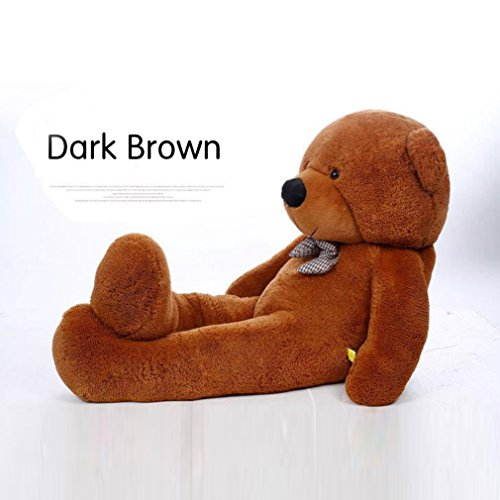 YXCSELL 4 FT 47 Inches Big Stuffed Teddy Bear Super Soft Huge Plush Stuffed Animal Toys Giant Teddy Bear Doll 4' Brown Teddy Bear