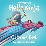Hello Ninja Coloring Book